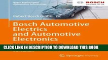 Read Now Bosch Automotive Electrics and Automotive Electronics: Systems and Components, Networking