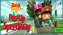 Zack and Quack Pop Up Speedway | kids games with zack and quack - Nick Jr. Video Game