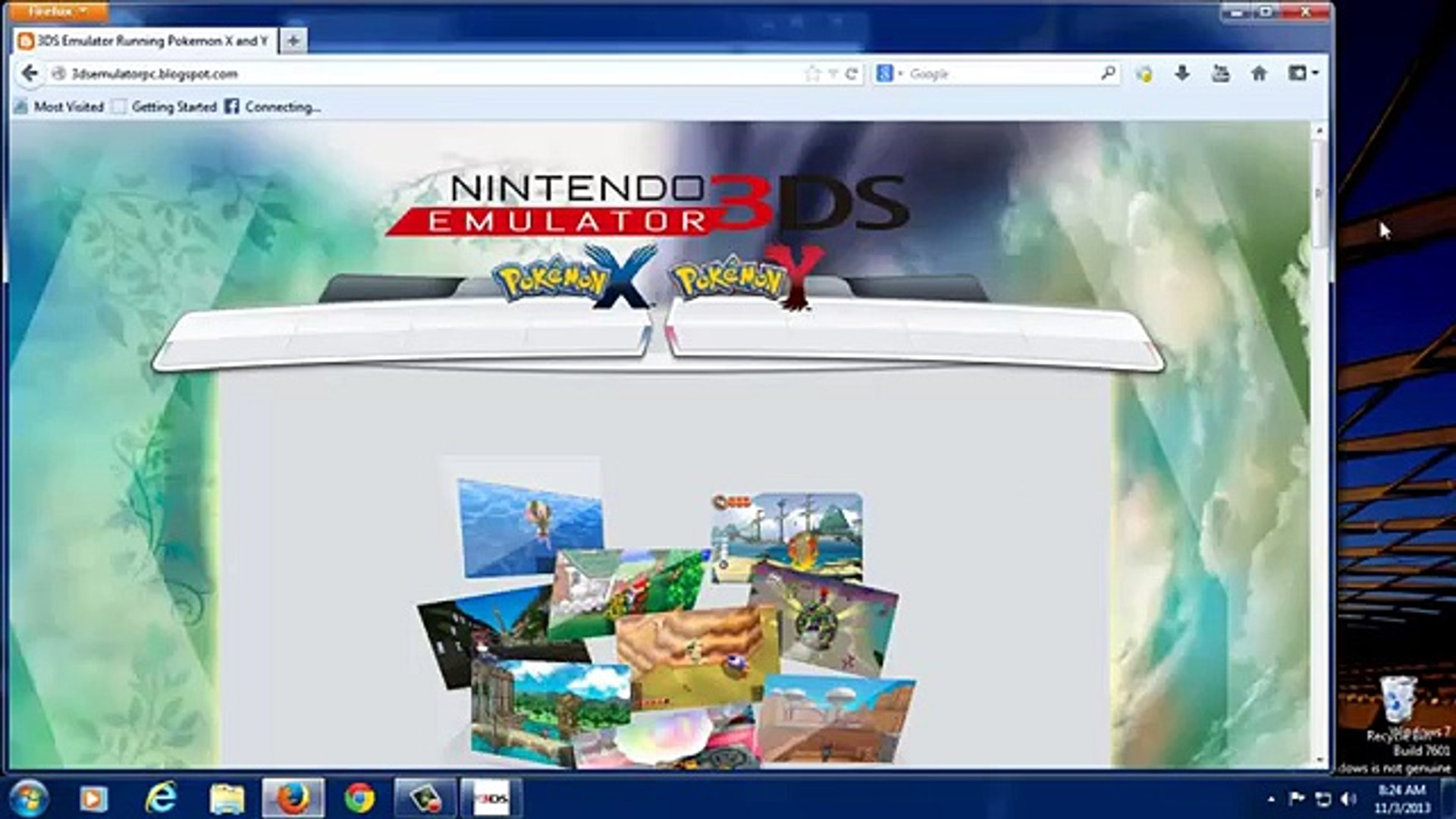 DS Emulator And Pokemon X and Y Free Download - - video Dailymotion