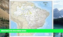National Geographic Maps - Reference Brazil Classic [Laminated] (National Geographic Reference
