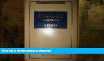 READ BOOK  Lousiana Law of Obligations in General: A Précis (Louisiana Civil Code Précis