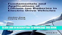 Ebook Fundamentals and Application of Lithium-ion Batteries in Electric Drive Vehicles Free Download