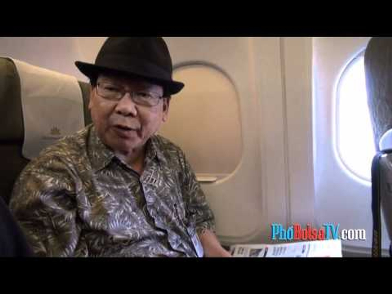 Ghi nhận về chuyến đi đặc biệt trở lại VN của nhà báo Nguyễn Phương Hùng
