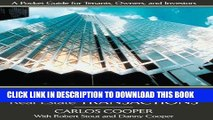 [PDF] Commercial Real Estate Transactions: A Pocket Guide for Tenants, Owners and Investors