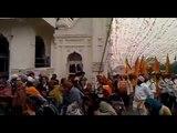 Golden Temple Amritsar Guru Gobind Singh Ji Gurpurub Nagar Kirtan From Akal Takhat Sahib