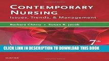 PDF Contemporary Nursing: Issues, Trends,   Management, 7e Full Online