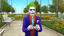 Frozen Elsa Pink Spiderman Joker Steals Bag Escapes From Jail Spiderman Vs Joker SuperHeroes Movies