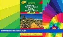 Buy NOW  Umbira - Perugia - Assisi 1 : 150 000 Italy Regional Map FB (English, French, Italian and