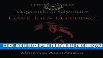 [PDF] Love-Lies-Bleeding: Legends of Elysium (Thieves of Elysium) Full Online