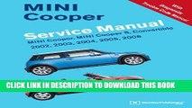 Read Now MINI Cooper Service Manual: 2002, 2003, 2004, 2005, 2006: MINI Cooper, MINI Cooper S,