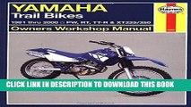 [PDF] Epub Yamaha Trail Bikes,  81 00 (Haynes Repair Manuals) Full Online