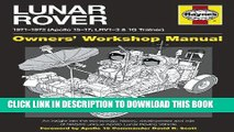 [PDF] Epub Lunar Rover Manual: 1971-1972 (Apollo 15-17; LRV1-3   1G Trainer) Full Download