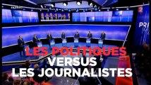 Primaire : vive tension entre journalistes et candidats durant le débat