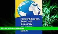 Online eBook  Popular Education, Power and Democracy: Swedish Experiences and Contributions