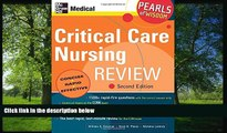 Choose Book Critical Care Nursing Review: Pearls of Wisdom, Second Edition