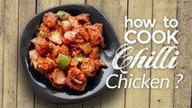 Chilli Chicken - Restaurant Style Spicy Chilli Chicken