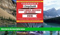 Buy  Frommer s EasyGuide to Disney World, Universal and Orlando 2016 (Easy Guides) Jason Cochran