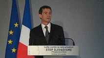 Manuel Valls présente la nouvelle campagne de lutte contre la radicalisation #ToujoursLeChoix
