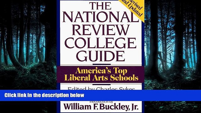 Fresh eBook  National Review College Guide: America s Top Liberal Arts Schools