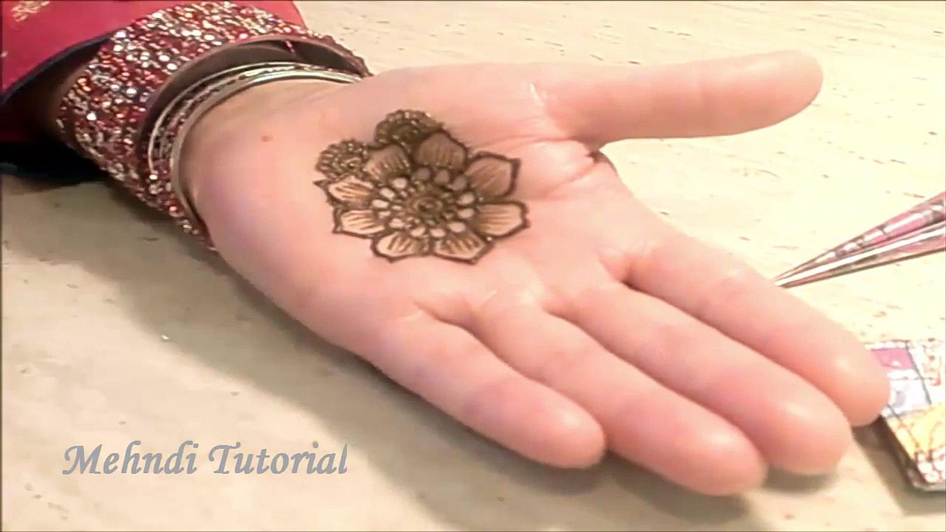 Beautiful Simple Mehndi Designs For Hands 2016 Simple Henna Designs Tutorials 7