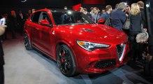 Alfa Romeo Stelvio 2017 : le premier SUV au Biscione