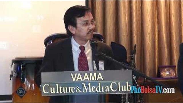 """""""Vua Rác"""" David Dương họp báo giới thiệu Hội Doanh Gia Việt Mỹ - phần 3"""