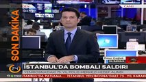 #SONDAKİKA İstanbulda bombalı saldırıdan ilk görüntüler