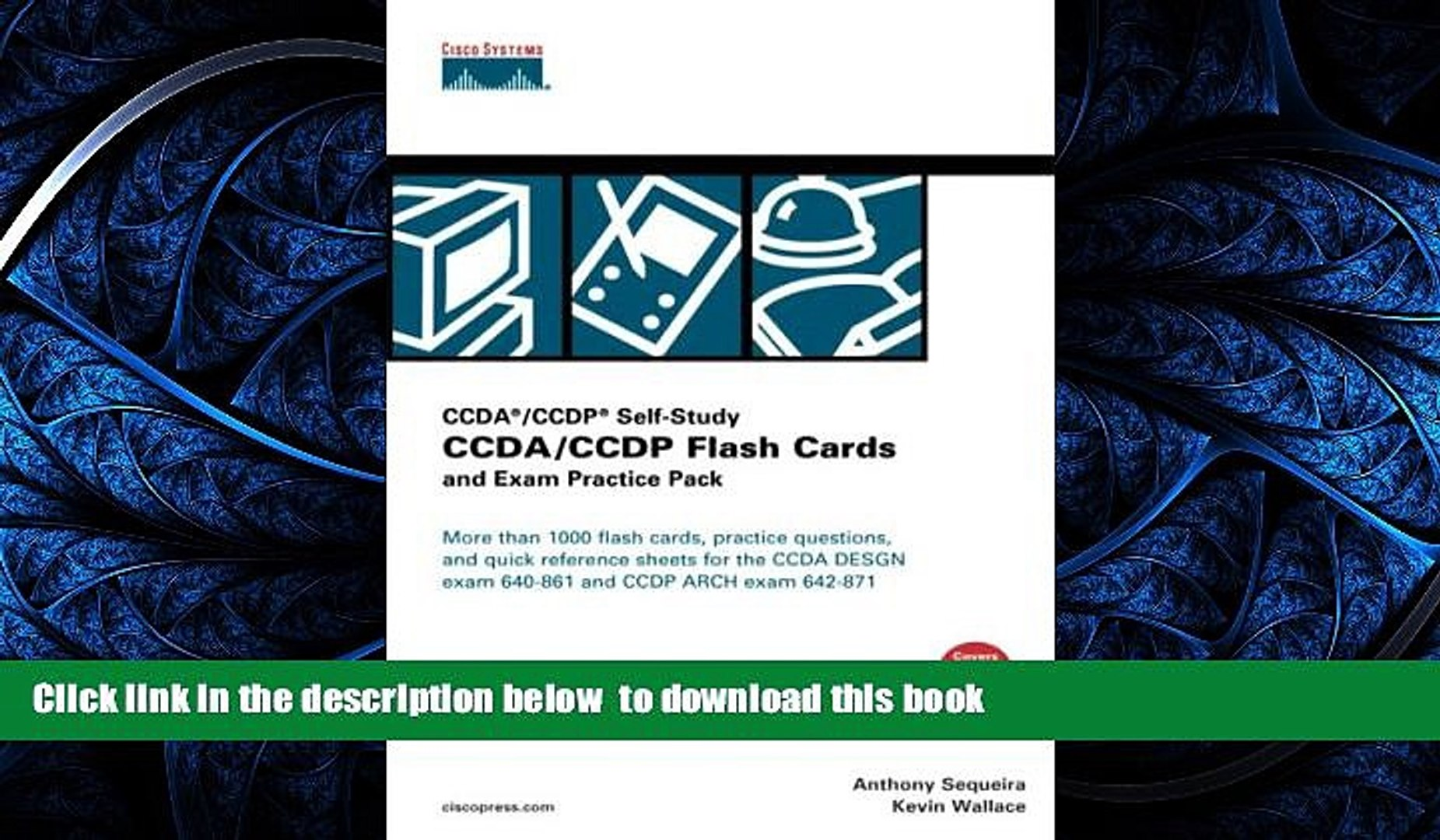 CCDA//CCDP Flash Cards and Exam Practice Pack