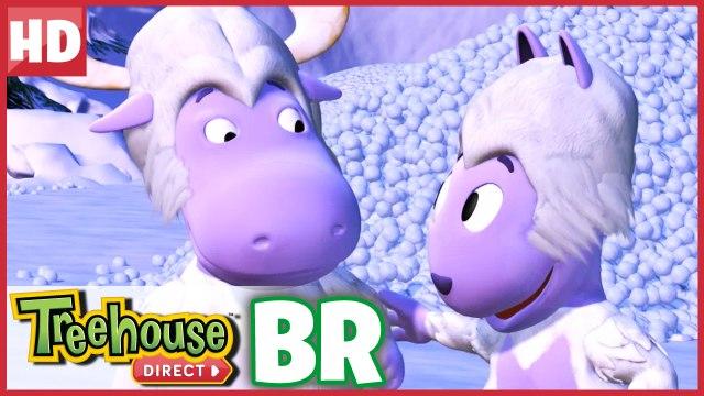 Os Backyardigans | Elfos de ação! Cuidado com os Abomináveis Irmãos!