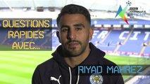 BBC Afrique - Questions rapides avec Riyad Mahrez - African Footballer of the year