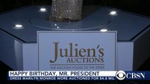 Iconic Marilyn Monroe dress auctioned for $4.8 million