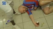 L'idée stupide du jour, jouer au foot avec un gramme d'alcool dans le sang