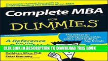 [PDF] Complete MBA For Dummies Full Collection