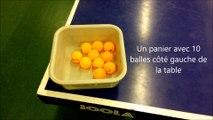 1-11 Hors table N°1 Améliorer sa motricite en tennis de table à l'aide d'un tournoi de paniers