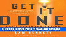 [PDF] Get It Done: From Procrastination to Creative Genius in 15 Minutes a Day Popular Online