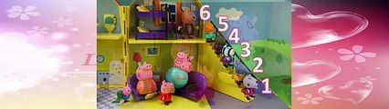Peppa Pig Counts From 1 To 10 From Learning By Pig Peppa Cartoon Channel Peppa Pig