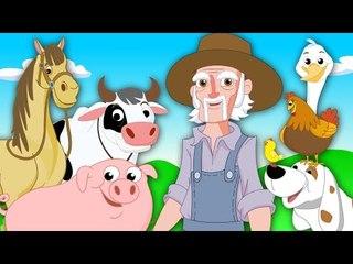 old macdonald had a farm | nursery rhymes | childrens rhymes | farm song