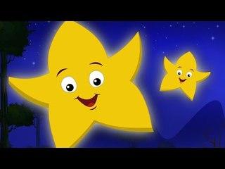 twinkle twinkle little star | nursery rhymes | kids songs | childrens rhymes.