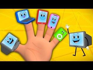 gadget finger family | nursery rhymes | childrens songs | kids rhymes | baby videos