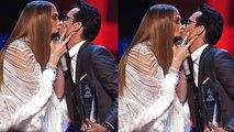 Jennifer Lopez Passionately Kisses Marc Anthony Onstage at the Latin Grammy Awards