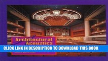 Ebook Architectural Acoustics: Principles and Design Free Read