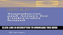 Ebook Transducers and Arrays for Underwater Sound (Underwater Acoustics) (The Underwater Acoustics