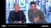 SLT : JoeyStarr boit de l'alcool sur le plateau (Vidéo)