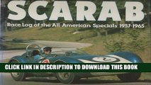 Best Seller Scarab: Race Log of the All-American Specials 1957-1965 Free Read