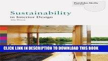 Best Seller Sustainability in Interior Design (Portfolio Skills. Interior Design) Free Download