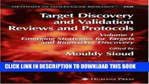 Read Now Target Discovery and Validation Reviews and Protocols: Emerging Strategies for Targets