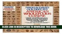 Ebook American Wholefoods Cuisine Free Read