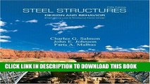 Read Now Steel Structures: Design and Behavior (5th Edition) PDF Online