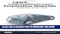 Best Seller CSWE - Certified SolidWorks Expert Preparation Materials: SolidWorks 2010 - 2014 Free