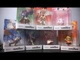 Roy, Ryu, JigglyPuff, Falco, Mewtwo, Peach & Lucas Amiibo Unboxing